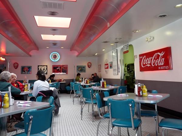 66 Diner interior