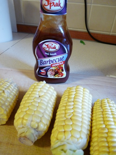 czech barbecue sauce & corn