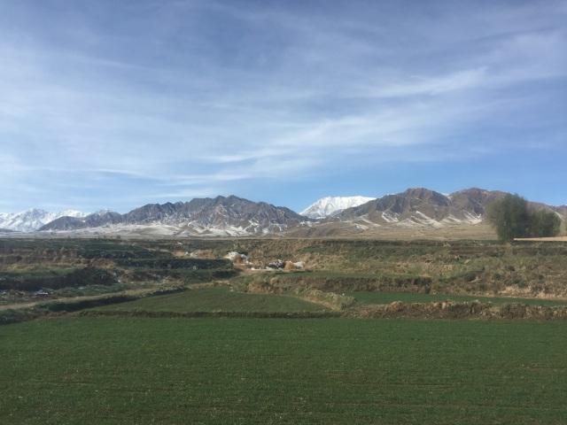 qilian mountains, zhangye, gansu